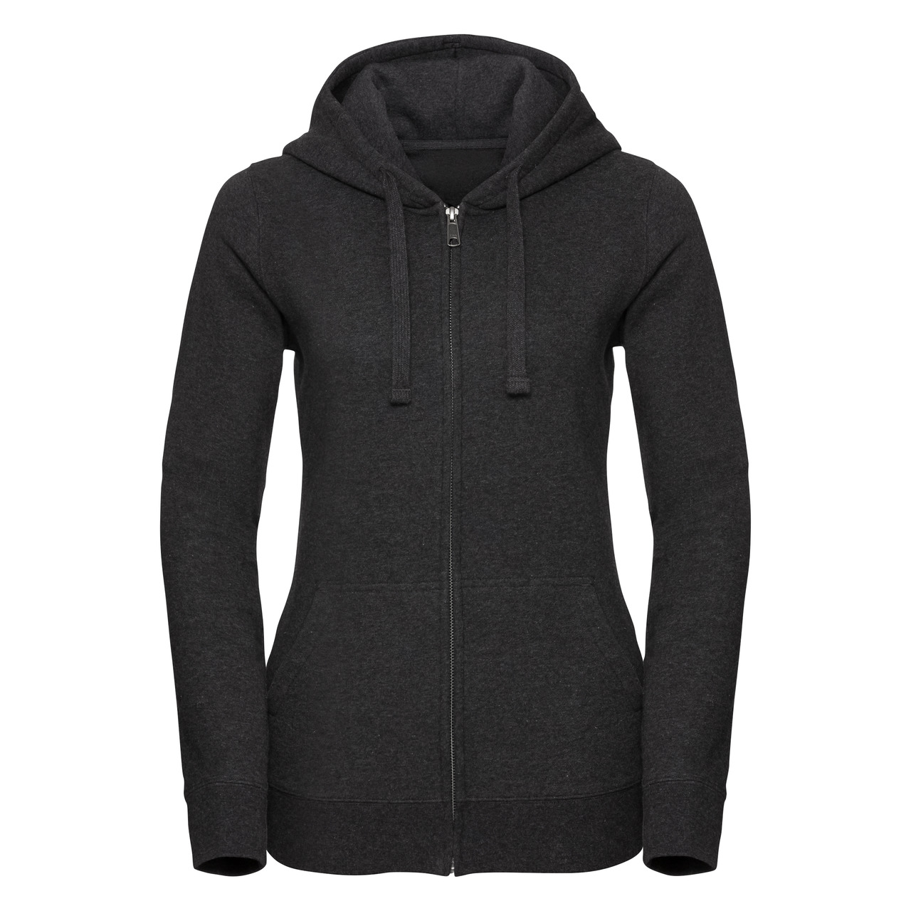 Damska bluza Authentic Melange Zipped Hooded Sweat R263F 75% bawełny ring-spun; 21% poliestru;4% wiskozy 280g