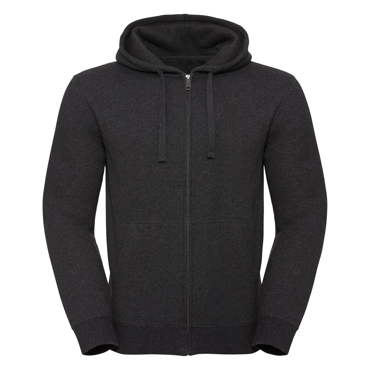 Męska bluza Authentic Melange Zipped Hooded Sweat R263M 75% bawełny ring-spun; 21% poliestru;4% wiskozy 280g