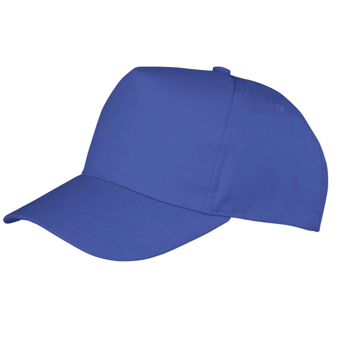 Czapka z daszkiem Boston Junior Printers Cap 260g/m2 65% Polyester, 35% Cotton