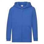 Dziecięca bluza reklamowa Zip Through Hooded Sweat Premium