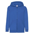Dziecięca bluza reklamowa Zip Through Hooded Sweat Classic