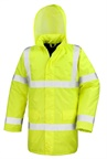 Kurtka odblaskowa Unisex High Viz Motorway Coat R218X 300D PU Coated Oxford Poliester