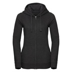 Damska bluza Authentic Melange Zipped Hooded Sweat