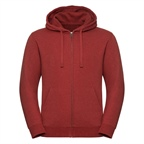 Męska bluza Authentic Melange Zipped Hooded Sweat