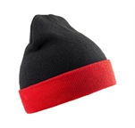 Czapka zimowa Recycled Compass Double Knit Beanie RC930X 50% Soft Feel Acrylic/50% Recycled Acrylic, 340g